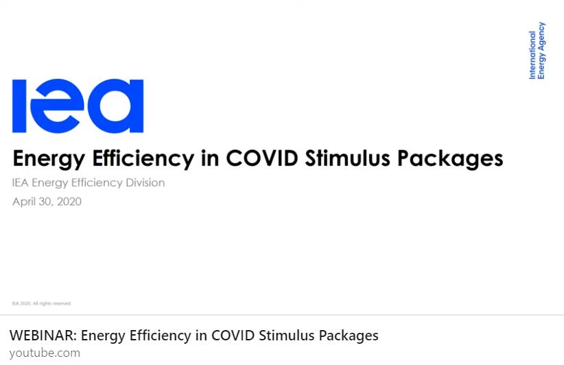 O papel da eficiência energética em tempos de Covid19