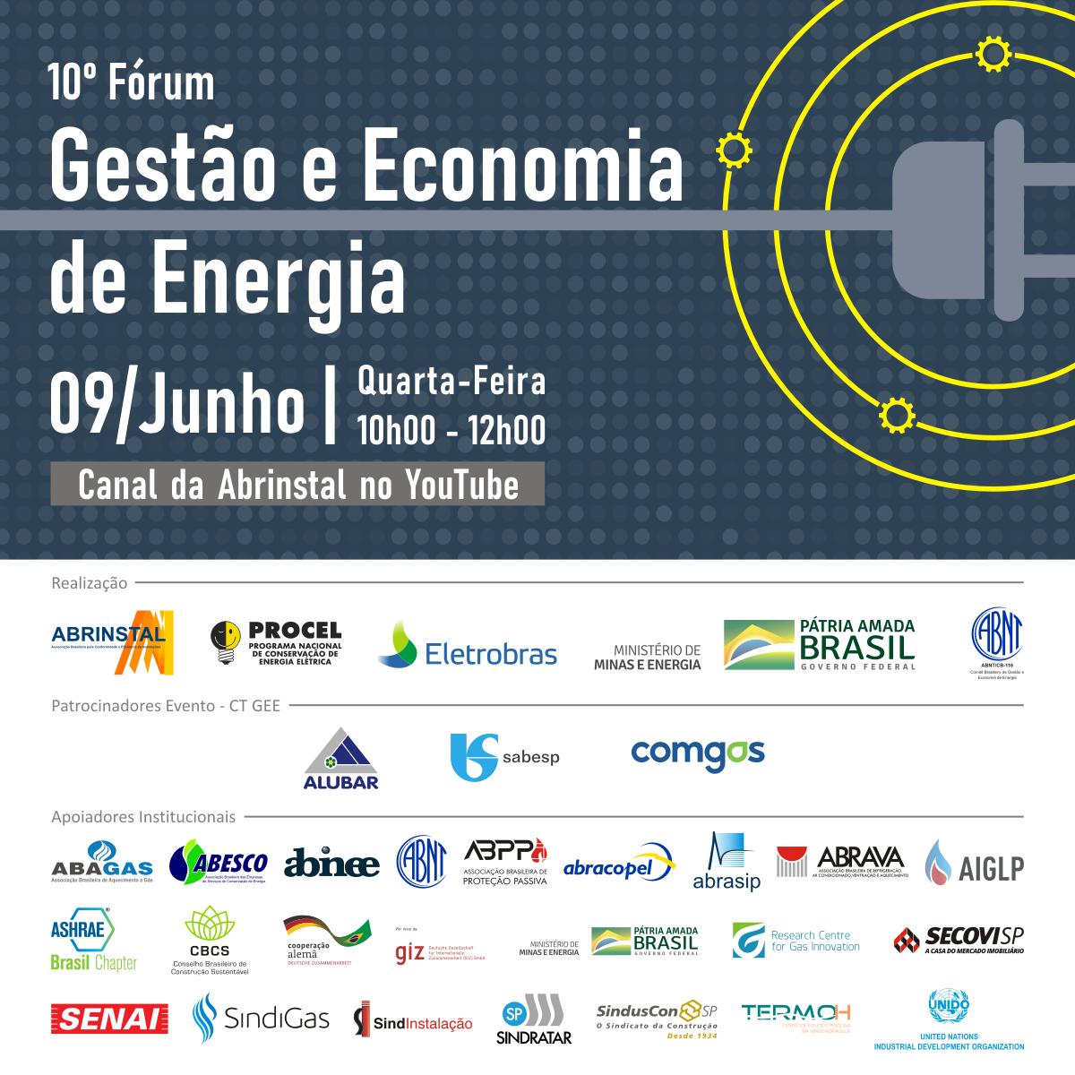 Principais ações e as perspectivas para o tema eficiência energética são debatidos em Fórum