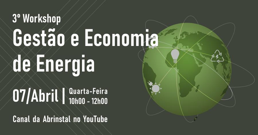 3º Workshop de Gestão e Economia de Energia